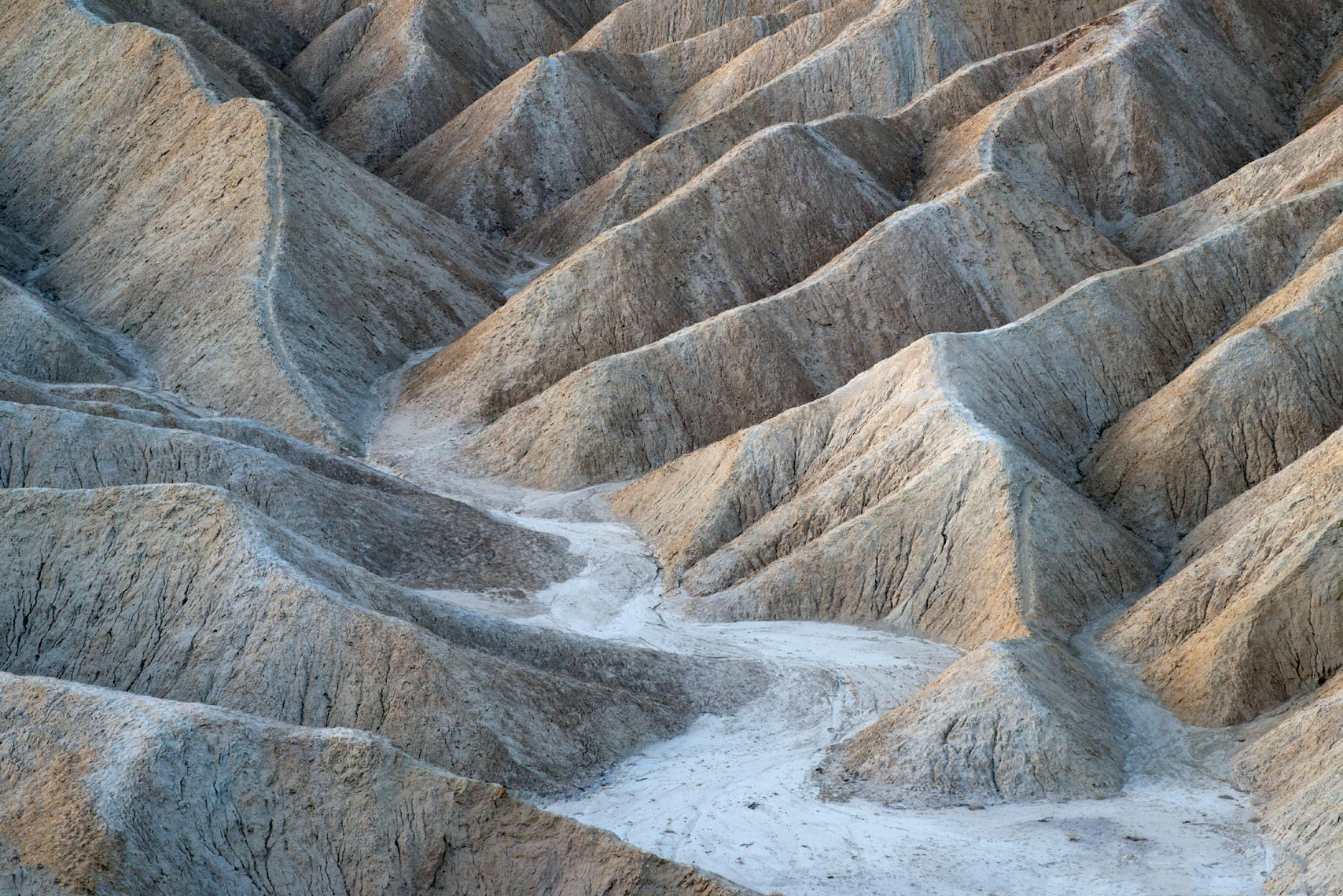 The Badlands, Death Valley National Park, California
