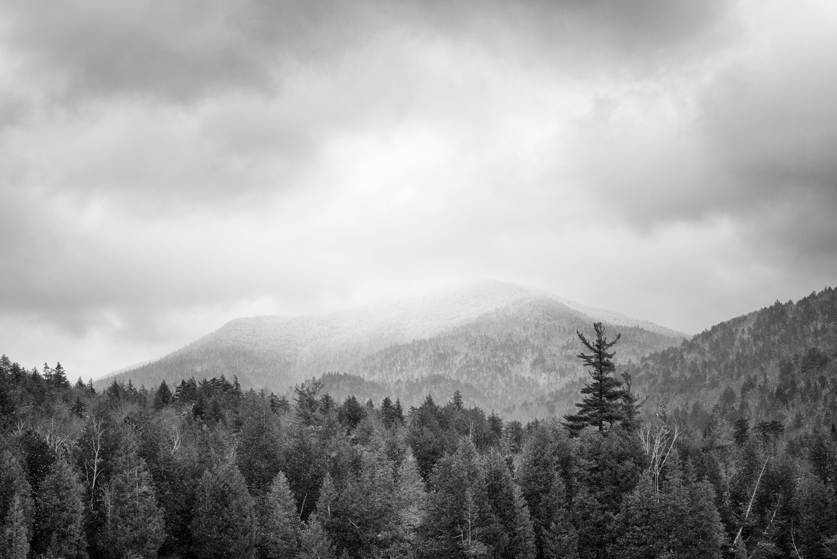 Winter Mountain, Adirondacks, New York