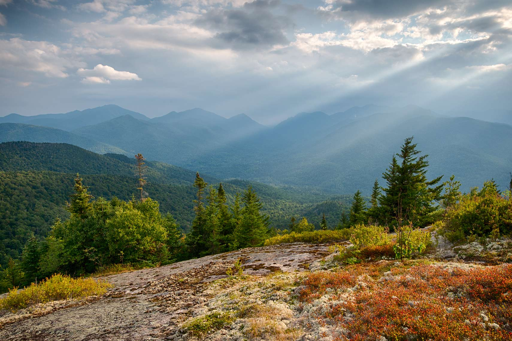 View From Hopkins Mountain, Adirondack Mountains, New York State