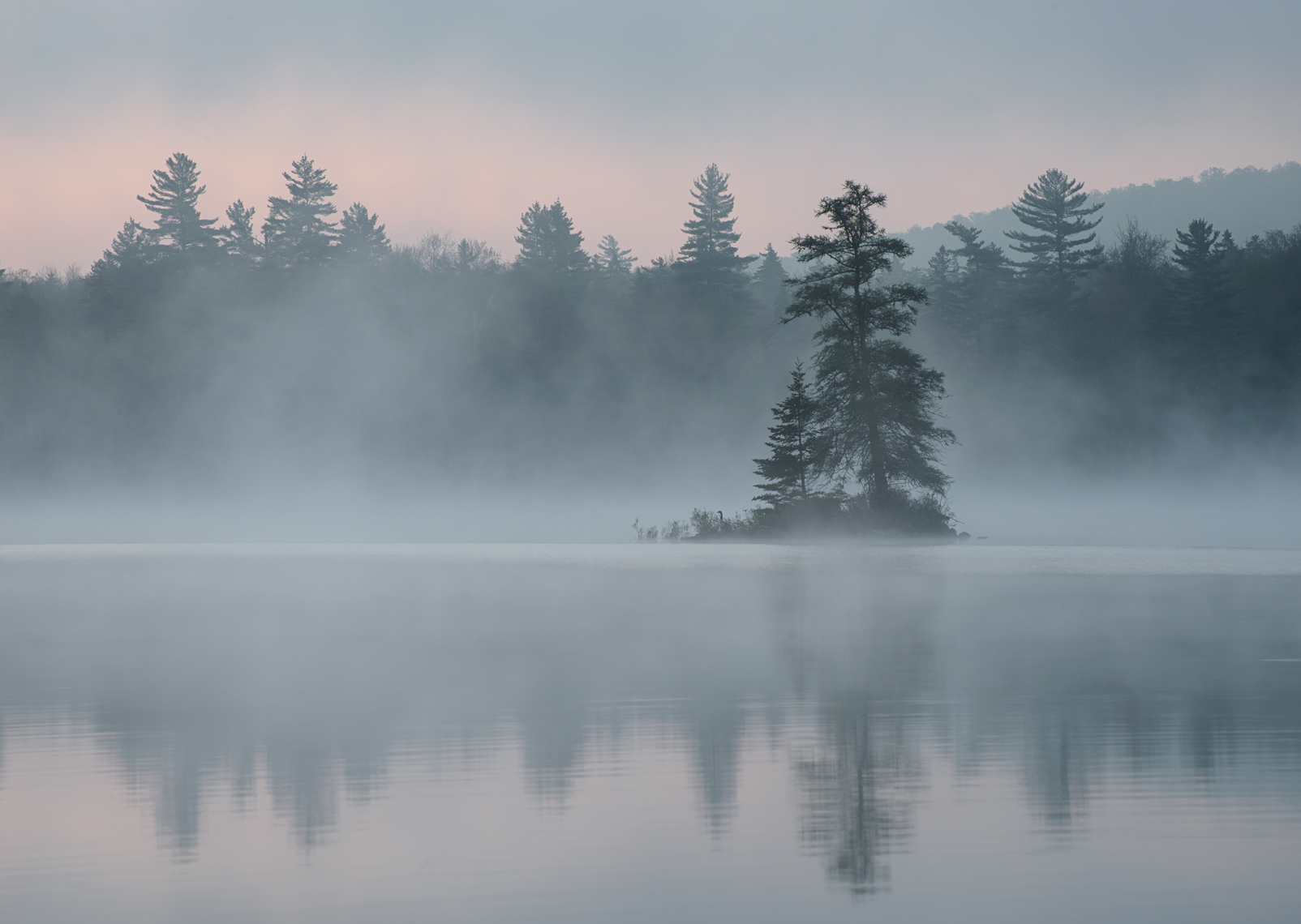 Island in Mist