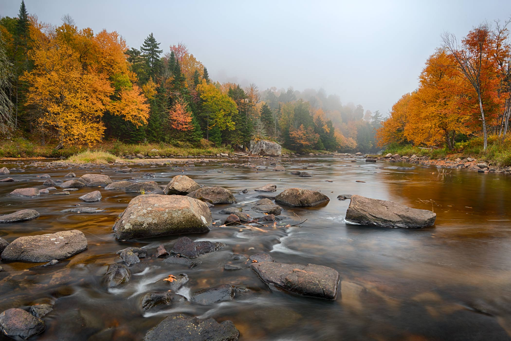 Mist on the Ausable