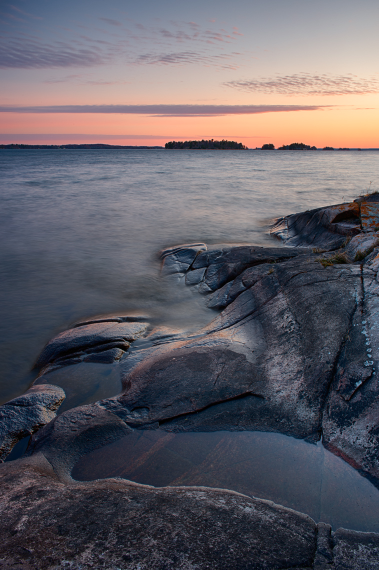 Summer Sunrise, Kring Point State Park, Thousand Islands, New York State