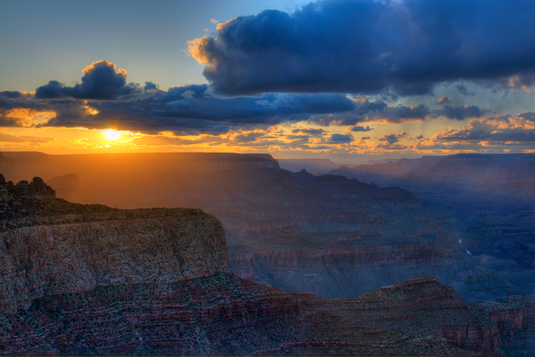 Grand Canyon Sunset, Grand Canyon National Park, Arizona